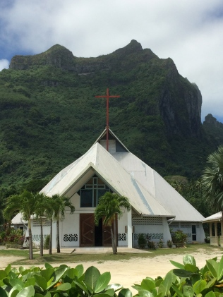 Bora Bora (can you tell I have a thing for churches?)