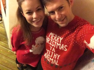 Merry Christmas from us and our sweaters!