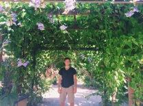 Garrett at the Butterfly Garden